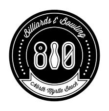 Logo for 810 Billiards & Bowling
